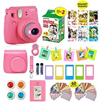 Fujifilm instax Mini 9 Instant Camera Flamingo Pink + 20...