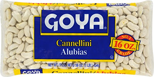 Goya Foods Dry White Kidney Beans, 16-Ounce (Pack of 24)