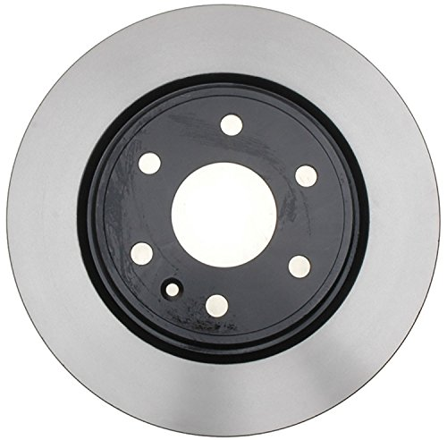 ACDelco 18A2497A Advantage Non-Coated Front Disc Brake Rotor