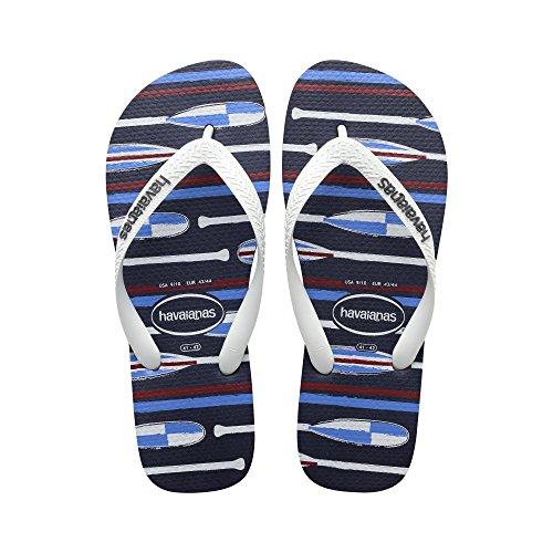 Ultraflex Top Nautical Marineblau/Weiß - Flip-Flops Herren Havaianas Marineblau/Weiß 39/40