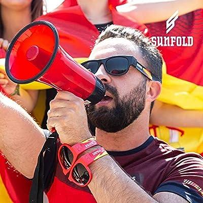 Eurroweb - Gafas de Sol enrollables bajo la Bandera española ...