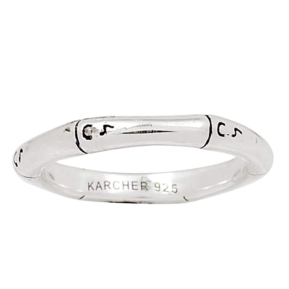 Xtremegems Plain Silver 925 Sterling Silver Ring Jewelry Size 5.5 27106R