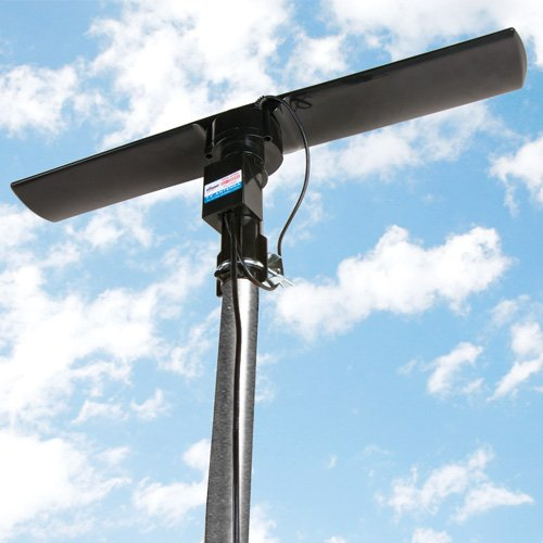 Silicon Scientific Outdoor HDTV Digital Antenna 120 Mile Range by Silicon Scientific