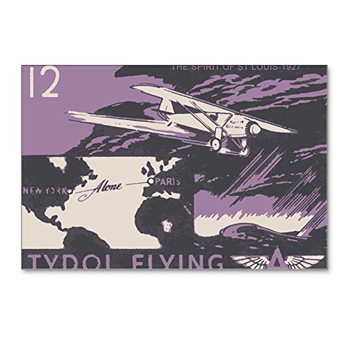 """CafePress - Tydol Flying A #12 - Postcards (Package of 8), 6""""x4"""" Glossy Print Note Card"""
