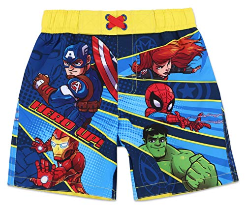 Toddler Boy Avengers Swim Trunk 4T