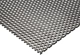 Online Metal Supply 304 Stainless Steel Perforated Sheet .035'' (20 ga.) x 8'' x 12'' - 1/8 Holes