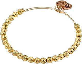product image for Alex and Ani Euphrates Beaded Bangle - Shiny Gold Finish
