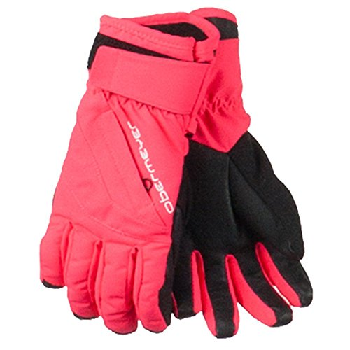 Obermeyer Teen Unisex Alpine Glove Day Glow Pink L
