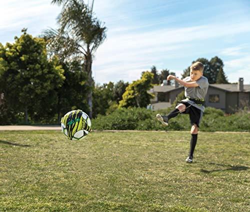 SKLZ Star-Kick Hands Free Trainer- Fits Ball Size 3, 4,