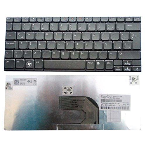 Dell Inspiron Mini 1012 1018 Black Spanish Keyboard v111502ak 1RF3G Pk130f11a26 Teclado en Español