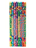 Geddes Happy Birthday Pencil Assortment, Set of 144