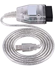 K + DCAN OBD2 kabel diagnostyczny USB, samochodowy narzędzie diagnostyczne K + DCAN OBD2 kabel diagnostyczny USB do serii B M W E