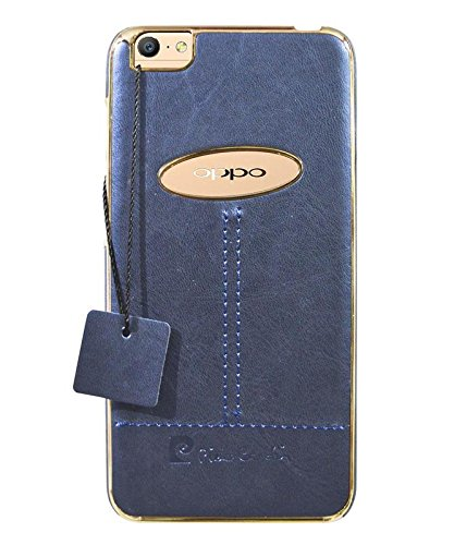 first rate 07d58 4ebb0 COVERNEW Leather Back Cover for Oppo A57 - Royal Blue: Amazon.in ...