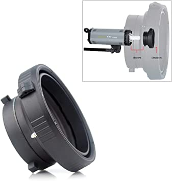 Ring Adapter for Elinchrom to Bowens for Softbox Strobe Monolight Photo Studio