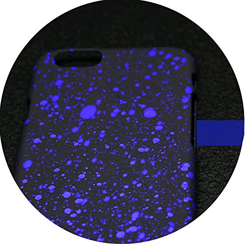Prefect,3D Cover Three-Dimensional Stars case for iPhone 7 6 6S Plus 5 5S SE Ultra Thin Frosted Starry Sky for iPhone7 Phone Case,Royal Blue,for iPhone 5 5S SE