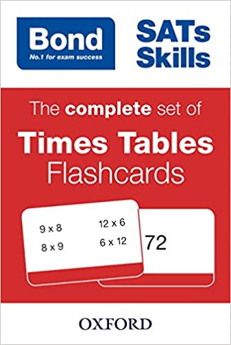 Bond SATs Skills: The complete set of Times Tables