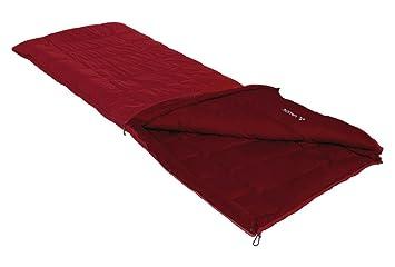 VAUDE Kunstfaser Navajo - Saco de dormir rectangular para acampada: Amazon.es: Deportes y aire libre