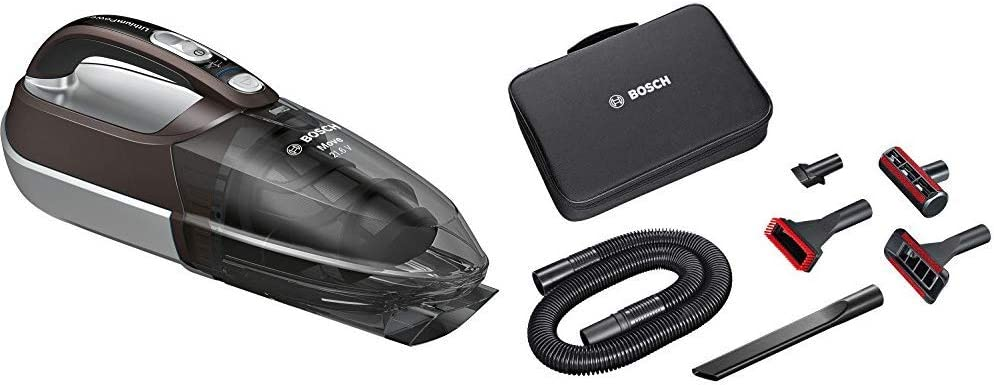 Bosch BHN2140L Move Lithium Aspirador, 0.4 litros, Plástico, Marrón/gris traslúcido/plata + Home and Car Kit de Accesorios Mano Move y aspiradores sin Cable Readyyy, 0 W, Plástico, Negro: Amazon.es: Hogar