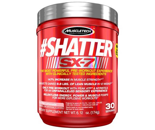 MuscleTech Shatter SX 7 Lemonade Servings