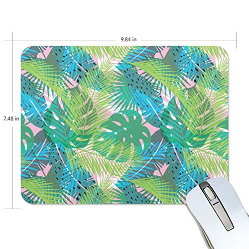 Banana Leaf Extract Powder Game Mouse Pad Customization, Mouse Pad Custom Rectangular Non-Slip Rubber Mouse Pad, Suitable for Computer Notebook ()