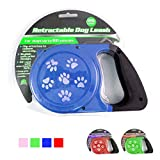 26 Ft Auto Retractable Dog Leash Stop Lock Small Medium Dogs Pet Leads Train New