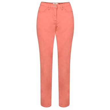 ff6b764258aae2 Sandwich Clothing - Casual Cropped Trouser, Spiced Coral, 18 (44 ...