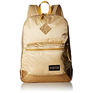 JanSport Unisex Super FX Gold 3D Stars 1 Backpack