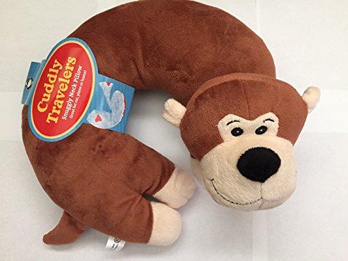 Cuddly Traveler Neck Pillow (Monkey)