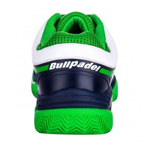 Zapatillas de pádel Bullpadel Beta Marino / Verde - Talla 40 EU ...