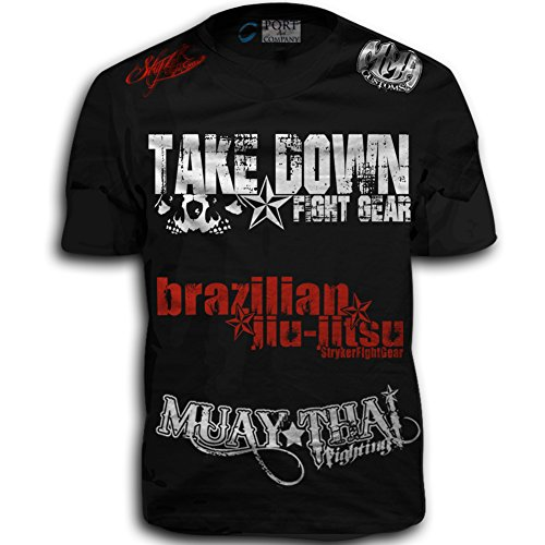 Take Down Fight Gear Skull Muay Thai Fighting Brazilian for sale  Delivered anywhere in USA