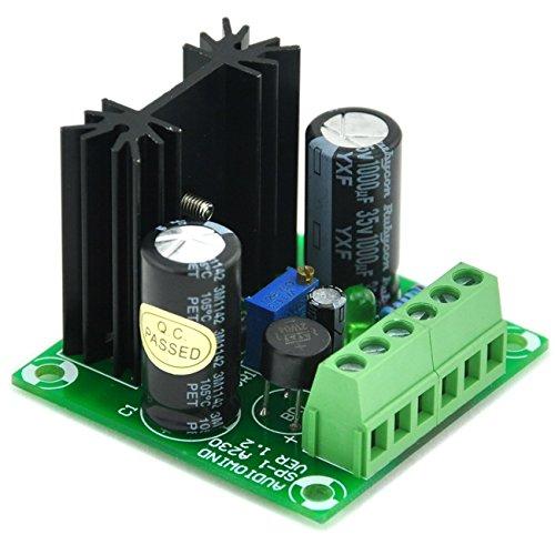 Electronics-Salon DC Positive 1.5~29V Adjustable Voltage Regulator Module, based on LM317 IC. ()