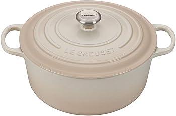 Le Creuset Signature Round 9-Quart Dutch Oven (Meringue)