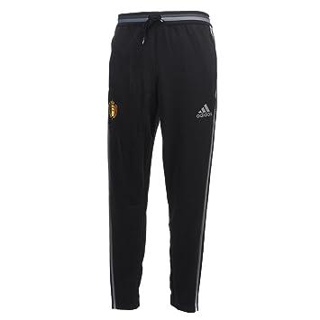 432a470b287 Pantalon Training Belgique Noir  Amazon.fr  Sports et Loisirs