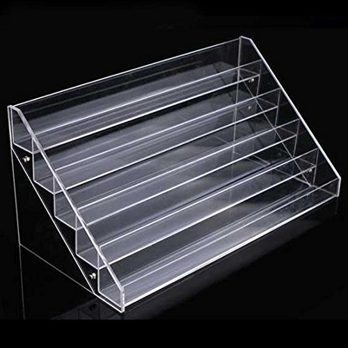 Female Vampire Makeup Tips (1pc with 5 layer Color Transparent Magnificent Holder Beauty Makeup Acrylic Storage Nail Polish Rack)