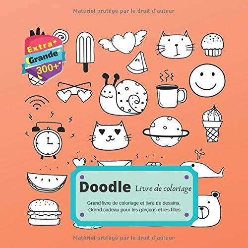 Amazon Com Livre De Coloriage Doodle Grand Livre De