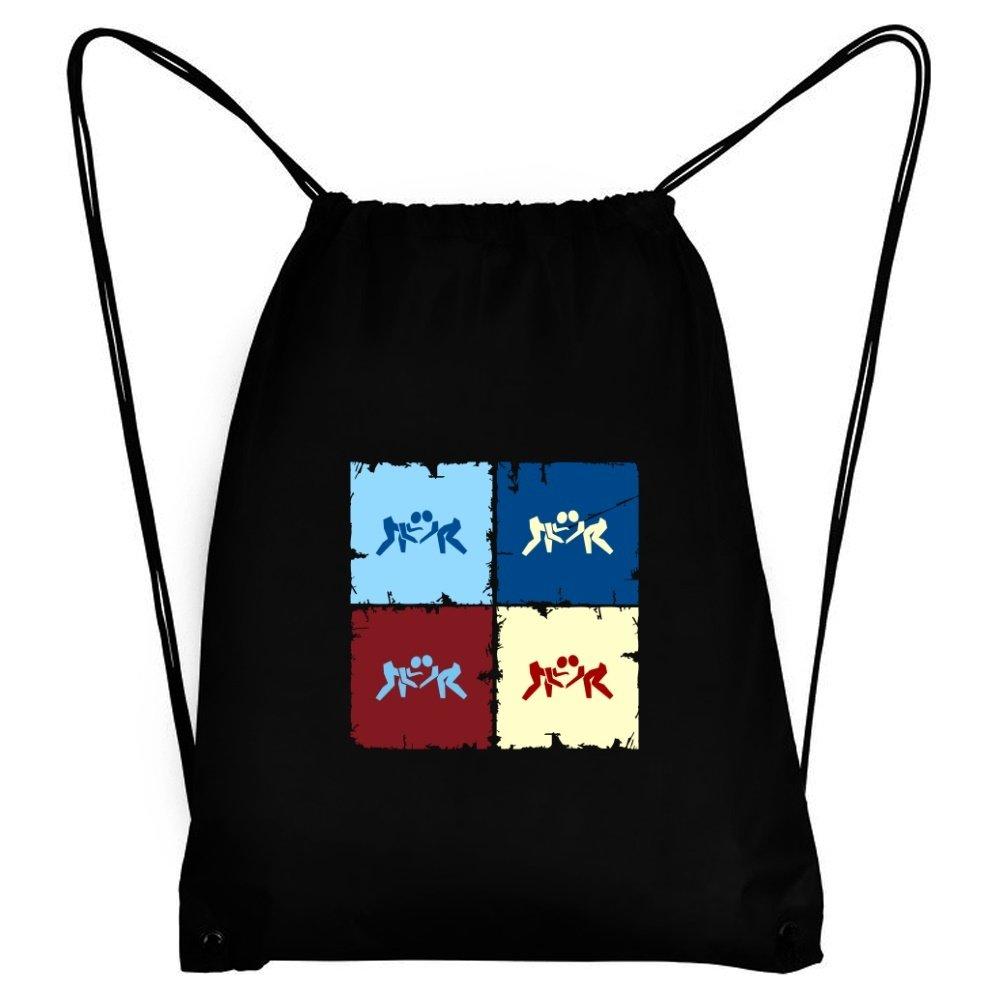 Teeburon Catch Wrestling Pop art Sport Bag by Teeburon