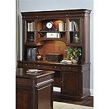 Liberty Furniture 273-HOJ-JEC Brayton Manor Jr Executive Credenza, 66'' x 24'' x 79'', Cognac
