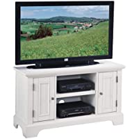 Home Styles 5530-09 Naples TV Stand, White Finish