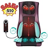 Naipo Back Massage Kneading Massage Chair Seat Cushion with Heat Air Compression Vibration