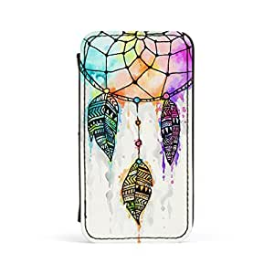 Dream Catcher 1 Premium Faux PU Leather Case, Protective Hard Cover Flip Case for Apple? iPhone 4 / 4s by UltraCases + FREE Crystal Clear Screen Protector