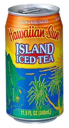 Hawaiian Sun Island Ice Tea, 11.5-Ounce (Pack of 24) by Hawaiian Sun