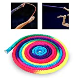 Gymnastics Arts Rope Jumping Rope Exercise & Fitness Rainbow Colour Sports Training Rope Rhythmic Gymnastics Rope Competition Rope
