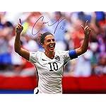 bd03430b07ceec Carli Lloyd US Women s Soccer Team 2015 World Champions Autographed ...