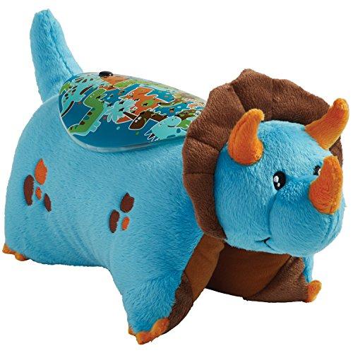 Night Light Stuffed Animal (Pillow Pets Blue Dinosaur Stuffed Animal Sleeptime Lites Plush Night Light)
