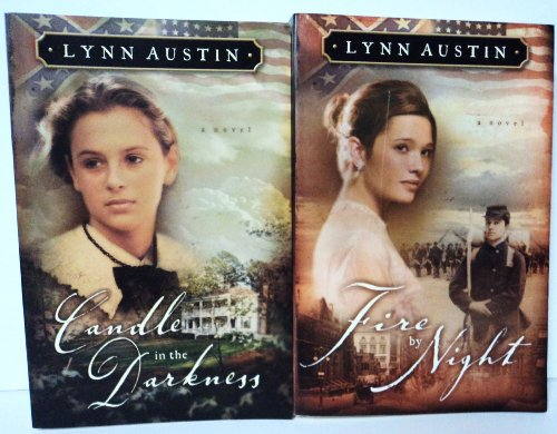 Set Of Two Lynn Austin Novels: Candle In The Darkness & Fire By Night