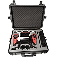 Professional carry case fits for Parrot Bebop 2 with Sky Controller made by MC-CASES - Excellent Cases - THE ORIGINAL (Parrot Bebop 2)