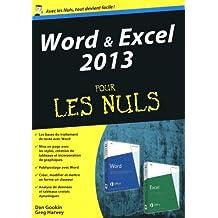 Word & Excel 2013 pour les Nuls