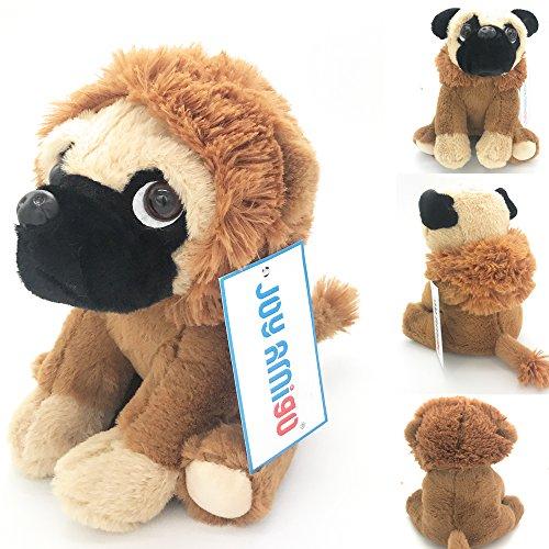b33395a93ec Joy Amigo Stuffed Pug Dog Puppy Soft Cuddly Animal Toy in Costumes - Super  Cute Quality