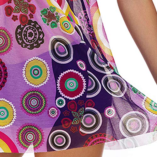 Beste Flyshow Tankini Bikini Damen Set-Frauen Blumendruck Übergröße Bikini Set Sommer Bikinis Tankini Swim Kleid Badeanzug Beachwear gepolsterte Bademode Frauen Große Größe Badeanzüge Lila cRPJ