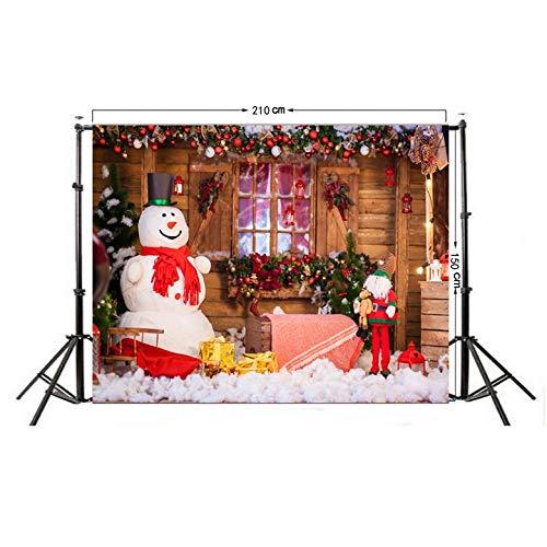 (Telón de Fondo fotográfico modificado para requisitos particulares paño fotográfico de la Navidad para el estudio de la foto)